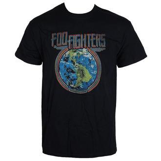 majica kovinski moški Foo Fighters - Globe - LIVE NATION, LIVE NATION, Foo Fighters