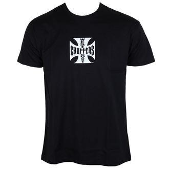 Moška majica - West Coast Choppers - Iron Cross - Črna - WCCTS002ZW