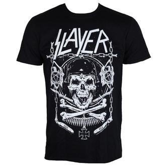 majica kovinski moški Slayer - Skull & Bones - ROCK OFF, ROCK OFF, Slayer