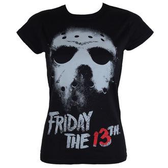 Ženska filmska majica Friday the 13th - Črna - HYBRIS, HYBRIS, Friday the 13th