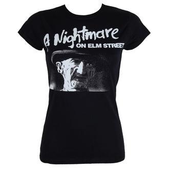 film majica ženske Noční můra z Elm Street - Black - HYBRIS, HYBRIS, Mora v ulici brestov