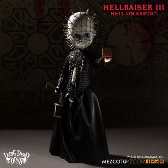 figurica Hellraiser 3rd - Living Dead Dolls Doll - Pinhead, LIVING DEAD DOLLS