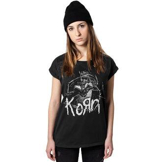 majica kovinski ženske Korn - Cracked Glass - URBAN CLASSIC, NNM, Korn