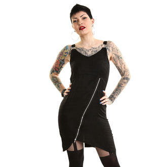 Obleka ženske HEARTLESS - EVENTIDE - BLACK, HEARTLESS