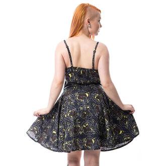 Obleka ženske CUPCAKE CULT - MOON FOX - BLACK, CUPCAKE CULT