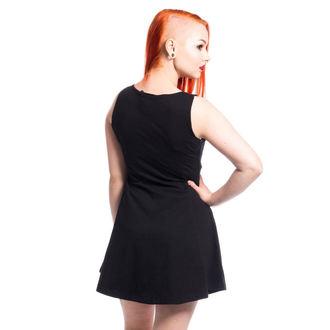 Obleka ženske CUPCAKE CULT - KITTY - BLACK, CUPCAKE CULT