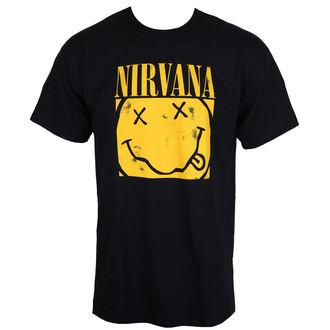 majica kovinski moški Nirvana - BOX SMILEY - PLASTIC HEAD, PLASTIC HEAD, Nirvana