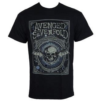 majica kovinski moški Avenged Sevenfold - ORNATE DEATH BAT - PLASTIC HEAD, PLASTIC HEAD, Avenged Sevenfold