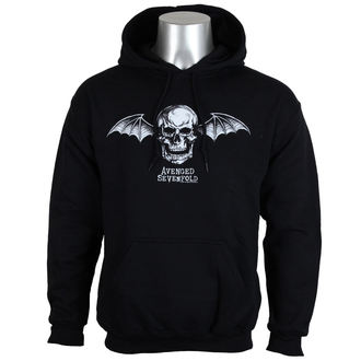 jopa s kapuco moški Avenged Sevenfold - DEATH BAT LOGO - PLASTIC HEAD, PLASTIC HEAD, Avenged Sevenfold