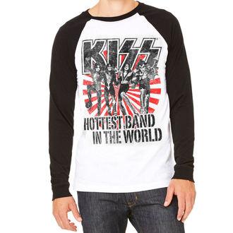majica kovinski moški Kiss - Hottest Band In The World - HYBRIS, HYBRIS, Kiss