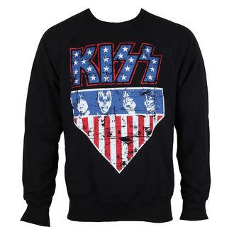 jopica (št pokrov) moški Kiss - Stars & Stripes - HYBRIS, HYBRIS, Kiss