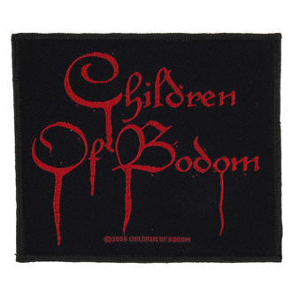 obliž CHILDREN OF BODOM - BLOOD LOGO - RAZAMATAZ, RAZAMATAZ, Children of Bodom
