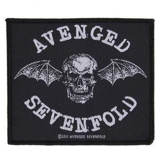 Našitek AVENGED SEVENFOLD - DEATH BAT - RAZAMATAZ, RAZAMATAZ, Avenged Sevenfold