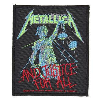 Našitek METALLICA - AND JUSTICE FOR ALL - RAZAMATAZ, RAZAMATAZ, Metallica