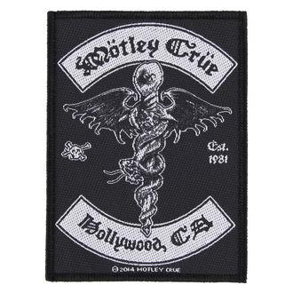 Našitek Mötley Crüe - HOLLYWOOD - RAZAMATAZ, RAZAMATAZ, Mötley Crüe