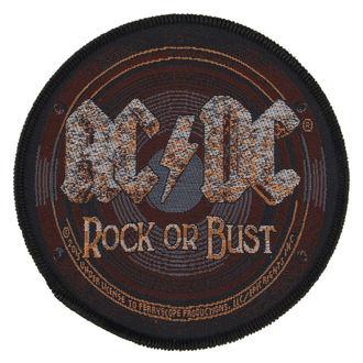 Našitek AC / DC - ROCK OR BUST - RAZAMATAZ, RAZAMATAZ, AC-DC