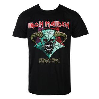 Moška metal majica Iron Maiden - Legacy of the Beast European Tour 2018 - ROCK OFF - IMTEE72MB