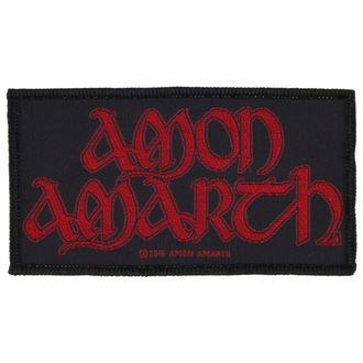 Našitek AMON AMARTH - RED LOGO - RAZAMATAZ, RAZAMATAZ, Amon Amarth