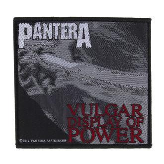 Našitek PANTERA - VULGAR DISPLAY OF POWER - RAZAMATAZ, RAZAMATAZ, Pantera