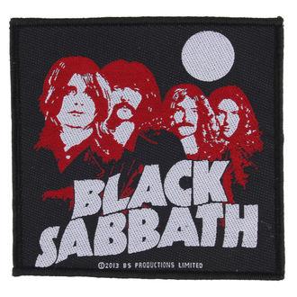 Našitek BLACK SABBATH - RED PORTRAITS - RAZAMATAZ, RAZAMATAZ, Black Sabbath