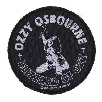 Našitek OZZY OSBOURNE - BLIZZARD OF OZZ - RAZAMATAZ, RAZAMATAZ, Ozzy Osbourne