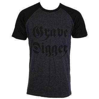 Metal majica moški Grave Digger - Oglje / črna -, NNM, Grave Digger