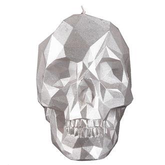 Sveča Lobanja - Silver