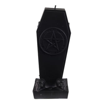 sveča Krst z Pentagram - Black Matt