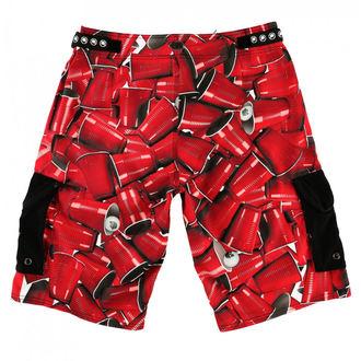 Kratke hlače moški (plavati kratke hlače) METAL MULISHA - CUPS, METAL MULISHA