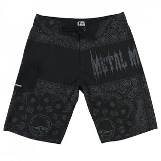 Kratke hlače moški (plavati kratke hlače) METAL MULISHA - REPRESENT - BLK, METAL MULISHA