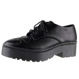 klin čevlji ženske - zdravo Ti Fantje Očisti Edini Stanovanje (Črno) - IRON FIST, IRON FIST