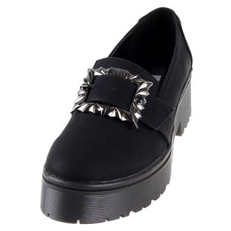 klin čevlji ženske - Nocturnal Cleated Sole Flat - IRON FIST, IRON FIST