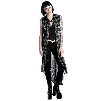 Obleka ženske KILLSTAR - Unplugged - Črno, KILLSTAR