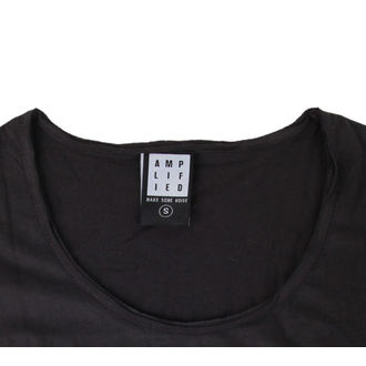 majica kovinski ženske AC-DC - ACDC - AMPLIFIED, AMPLIFIED, AC-DC