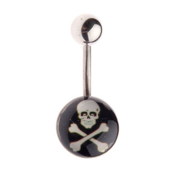 piercing dragulj Lobanja - L-025, NNM