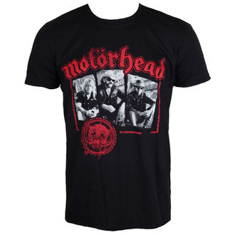 majica kovinski moški Motörhead - Stamped - ROCK OFF, ROCK OFF, Motörhead