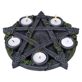 svečnik (dekoracija) Wiccan Pentagram Čaj