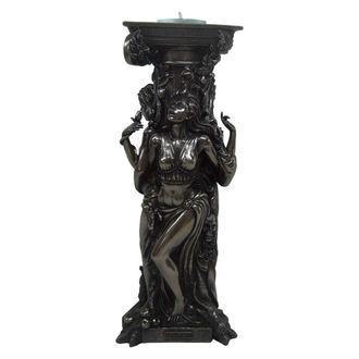 svečnik (dekoracija) Bronasta Triple Boginja
