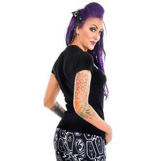 majica gotsko in punk ženske - HAUNTED HOUSE - TOO FAST, TOO FAST