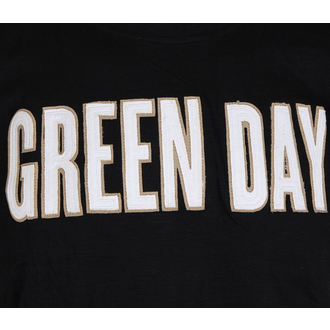 Metal majica moški Green Day - Logo & Grenade Applique Slub - ROCK OFF, ROCK OFF, Green Day