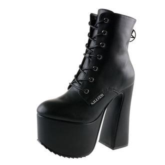 čevlji ženske KILLSTAR - Hell-O - Črno, KILLSTAR
