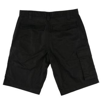Kratke hlače moški AGNOSTIC FRONT - LOWER EASTSIDE - Črno - RAGEWEAR, RAGEWEAR, Agnostic Front