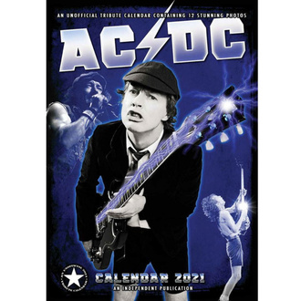 Koledar za leto 2021 - AC / DC, NNM, AC-DC
