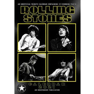Koledar za leto 2021 - Rolling Stones, NNM, Rolling Stones