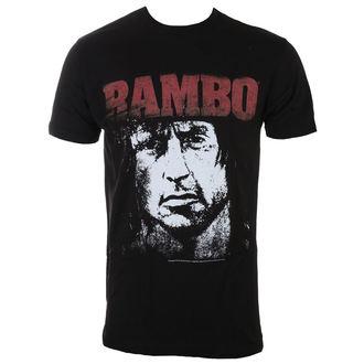 majica moški RAMBO - Red&White, AMERICAN CLASSICS