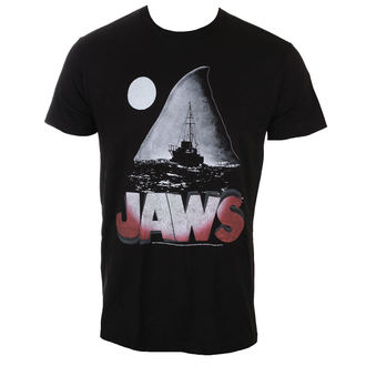 film majica moški čelisti - JAWS NIGHT - AMERICAN CLASSICS, AMERICAN CLASSICS, Žrelo