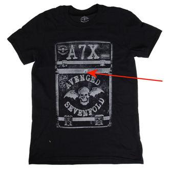 majica kovinski moški Avenged Sevenfold - Flightcase - ROCK OFF, ROCK OFF, Avenged Sevenfold