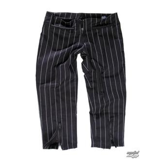 hlače ženske 3/4 Mode Wichtig - Zip Slacks Pin Stripe, MODE WICHTIG
