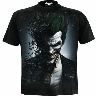 Moška majica SPIRAL - Batman - JOKER ARKHAM ORIGINS - Črna, SPIRAL, Batman
