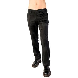 hlače Aderlass - Jeans Pin Stripe Black-White, ADERLASS